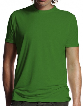 Bamboo t-shirt green in the group Bamboo products / Bamboo clothes at Sleep in Silk (tshirtgronr)